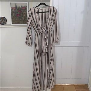 Striped romper/jumpsuit